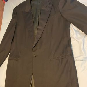 Men's Black Tuxedo Blazer